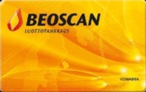 Beoscan luottotankkauskortti
